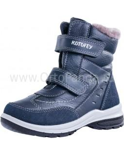 Ботинки зимние Котофей 452099-51