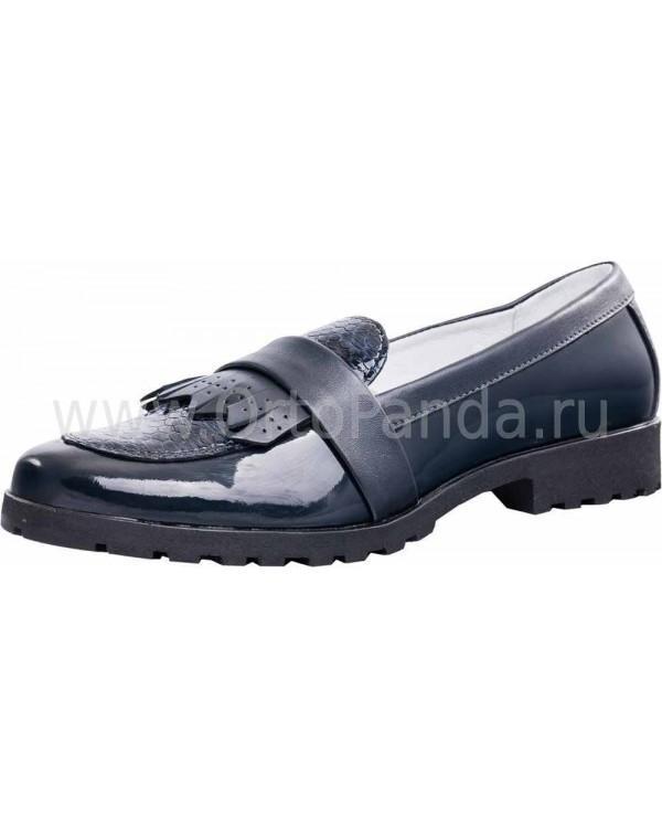 Туфли школьные Котофей 732164-21