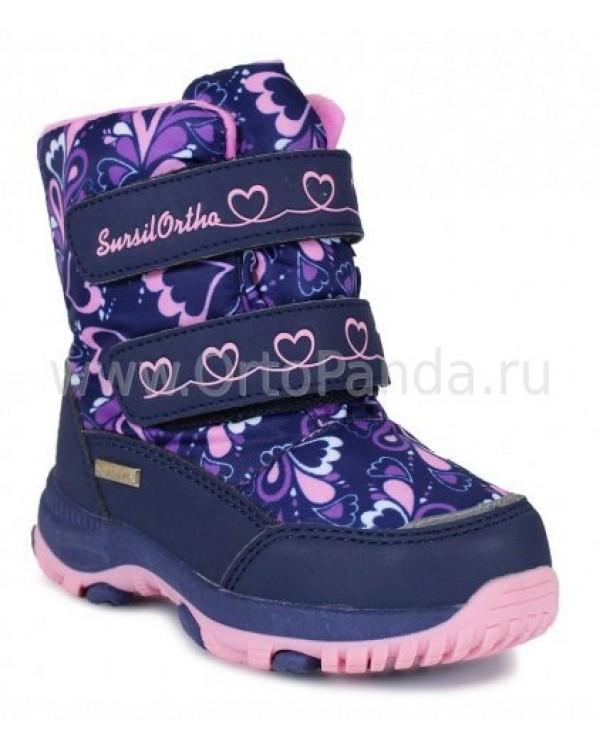 Ботинки зимние Сурсил-Орто A45-111